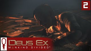 Deus Ex Mankind Divided Gameplay Part 2 - Terrorist Bombing! - Lets Play [Stealth Pacifist PC]