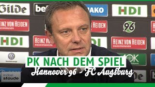 Hannover 96 1 - 2 Augsburg