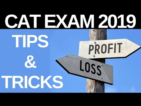 PROFIT AND LOSS | CAT EXAM | TIPS & TRICKS
