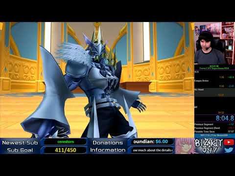 Kingdom Hearts HD BBS - LV1 Terra Superboss Rush