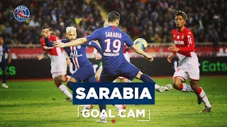 VIDEO: GOAL CAM | Every Angles | SARABIA vs MONACO