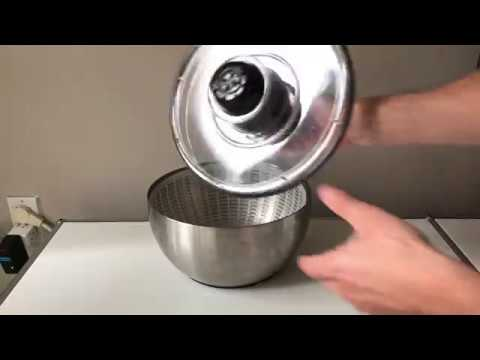 Oxo Stainless Steel Salad Spinner - Longer Lasting, Less Plastic (Review)