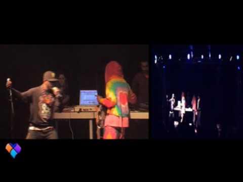Freaknic Copenhagen -Øs Crunc Teslå Vampirekiller Årc- Live at Den Grå Hall -10-3-09 part 1 of 5