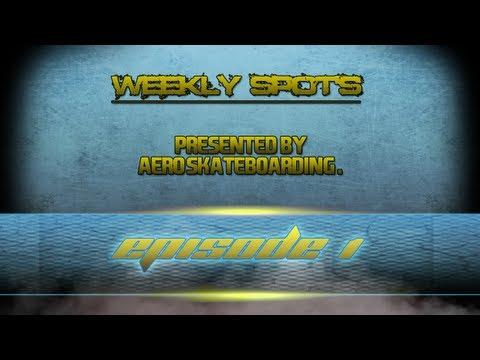 Aero's Weekly Skate 3 Spots Episode #1 Pipe Works