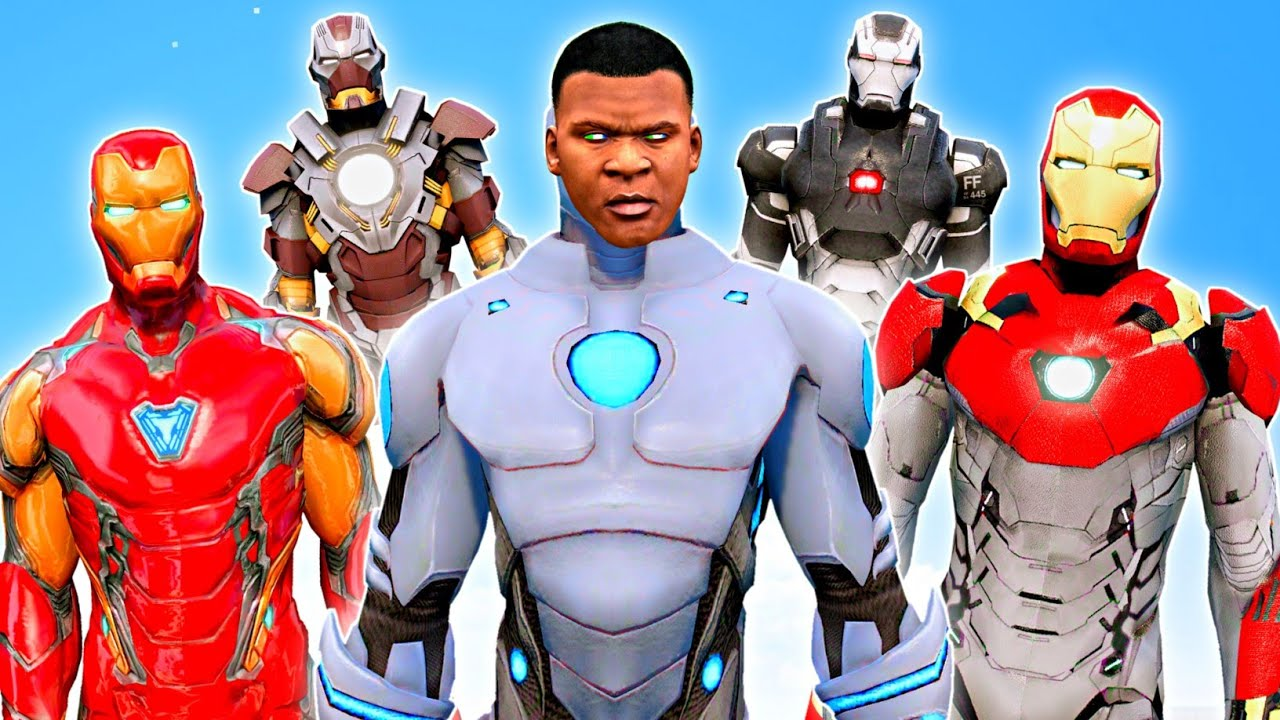 FRANKLIN Surviving 99 YEARS As IRON MAN in GTA 5 | GTA V GAMEPLAY | Team4SHOOTER