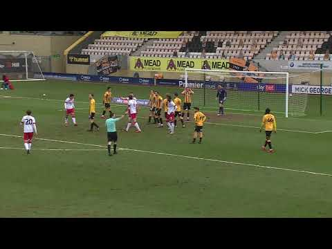 Cambridge Utd Walsall Goals And Highlights