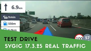 sYGIC 17.3.25 - TEST DRIVE Real Traffic & Real View Navigation  Mei 2018