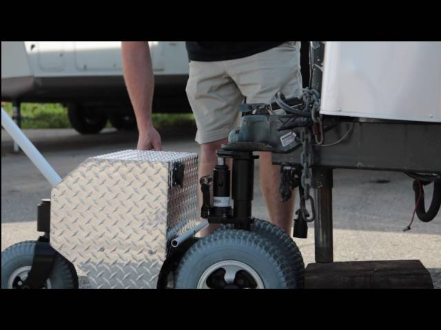 Riding Mower Trailer Mover Trax Power Dolly Systems Inc