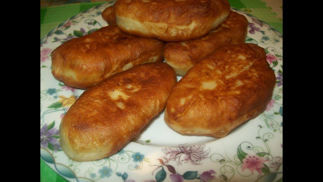 Жаренные пирожки с горохом