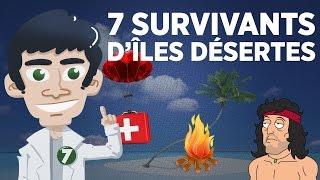 7 survivants d'îles désertes