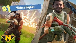 MY BIG BROTHER GETS HIS FIRST WIN! (Fortnite)