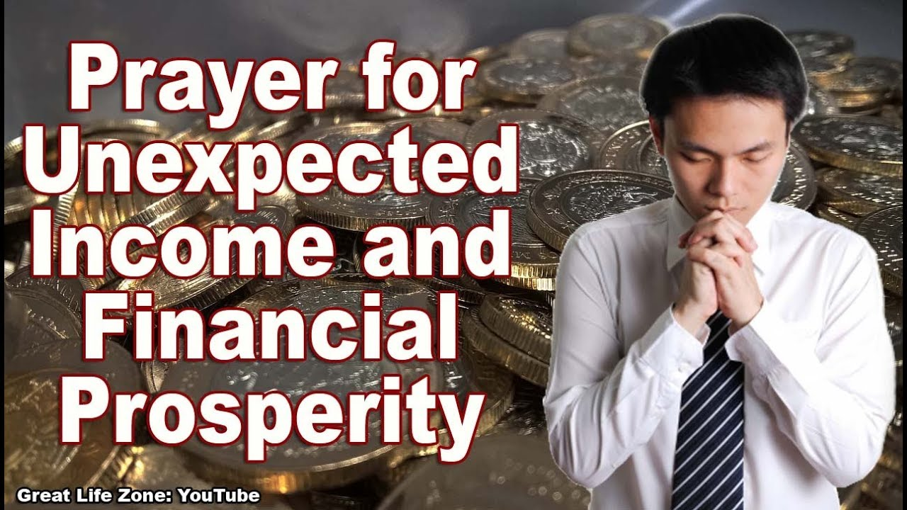 Prayer for Unexpected Income - Powerful Money Affirmations