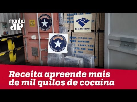 Em Dois Dias, Receita Apreende Mais De 1200 Quilos De Cocaína No Porto De Paranaguá