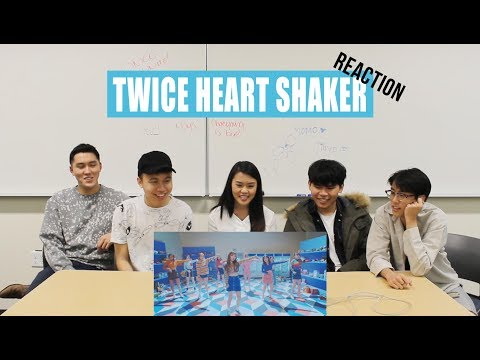 [APRICITY] Dancers React To Twice - Heart Shaker