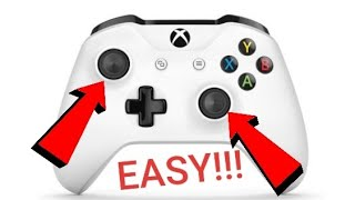 (EASY) How To Fix ANY Xbox One Controller/Joystick Drift!!!