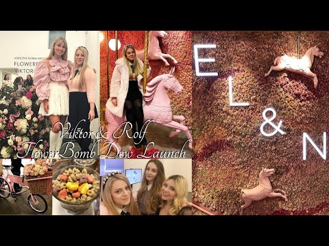 Meeting Freddy My Love and Fashion Mumblr! | Viktor & Rolf Flower Bomb Dew Launch!
