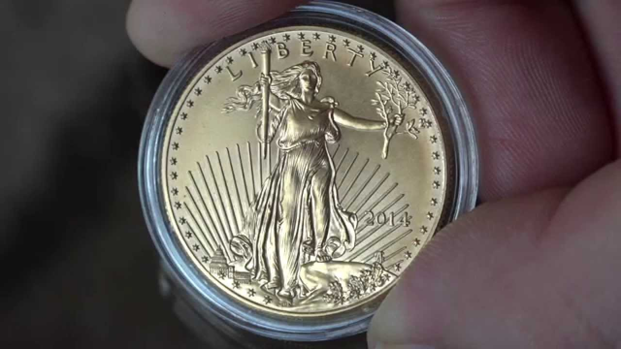 American Eagle 1 Oz Gold Coin 50 Usd Walking Liberty