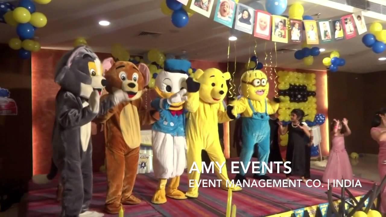 Expert Team For Cartoon Character Birthday Decoration Chandigarh 8288980007 Youtube