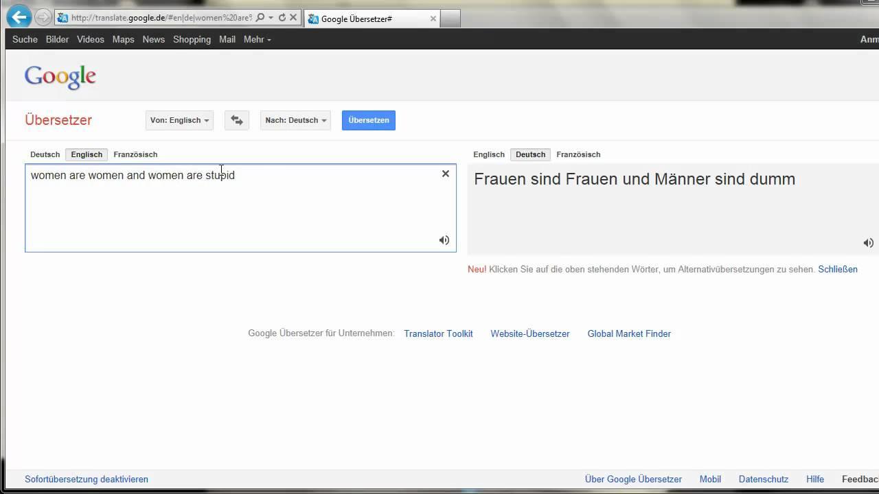 englisch in deutsch übersetzer