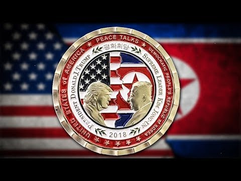 Trump Admin Unveiled Creepy Coin To Commemorate Failed Meeting With Kim Jong Un