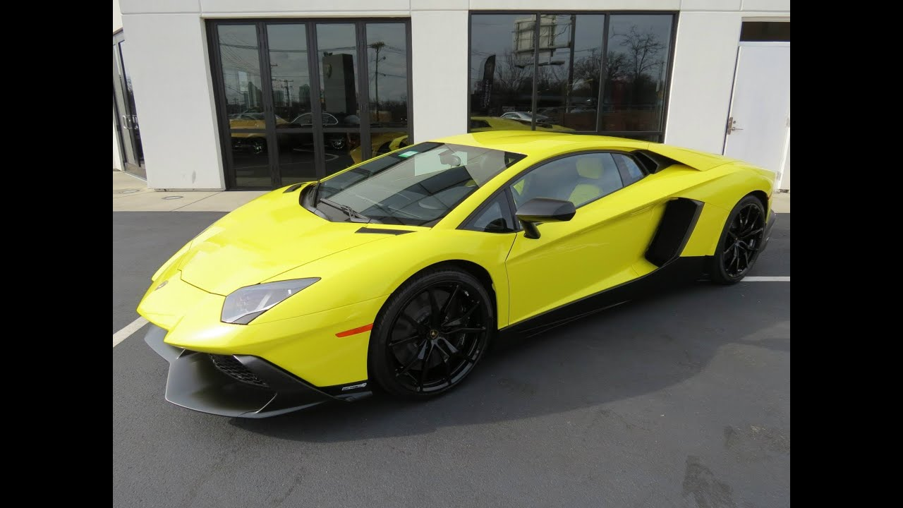 2014 Lamborghini Aventador LP720 4 50° Anniv. Start Up, Exhaust, Test  Drive, And In Depth Review   YouTube