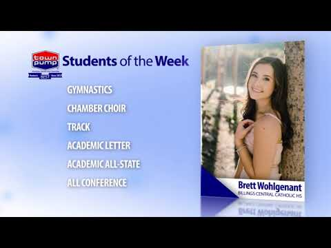 Students of the Week: Bo Hakert and Brett Wohlgenant of Billings Central Catholic High School