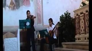 Musica matrimoni Toscana - Violino e Chitarra - Canone di Pachelbel