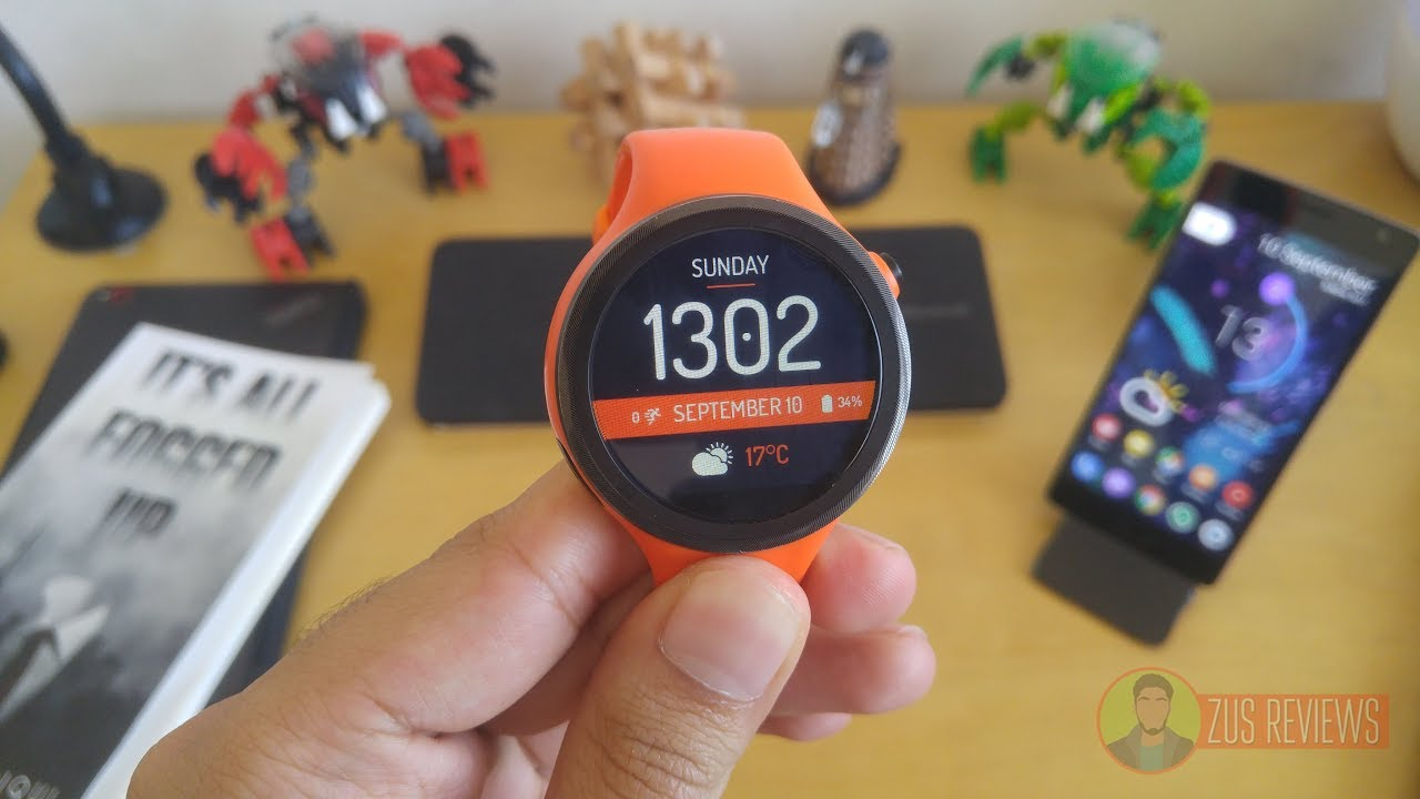 Moto 360 Sport Android Wear 2.0 Overview