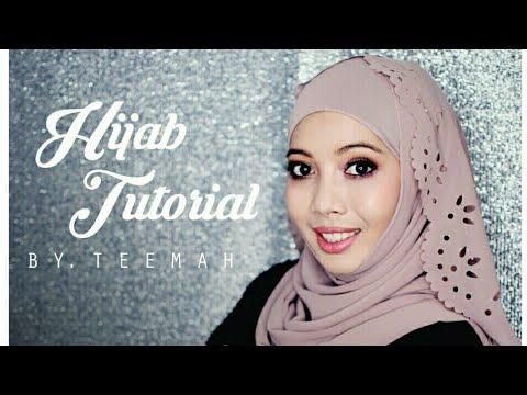 Wedding hijab tutorial