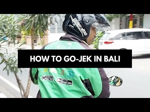 How to GoJek In Bali