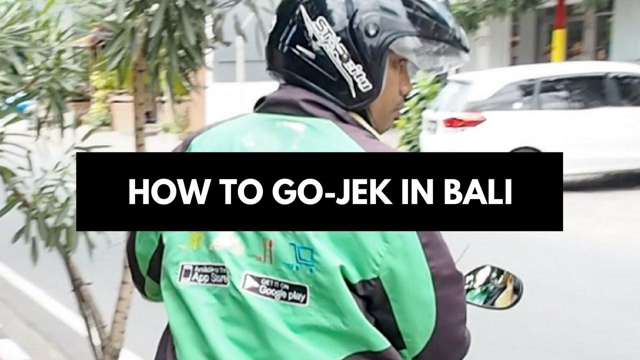How To Go-Jek In Bali