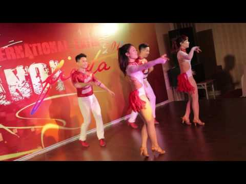 SPRING PRO TEAM - Bachata Performance @ Hanoi International Latin Fiesta 2016, Official Video