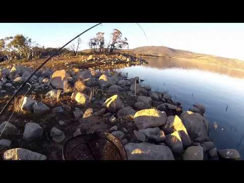 Trout Fishing Lake Jindabyne