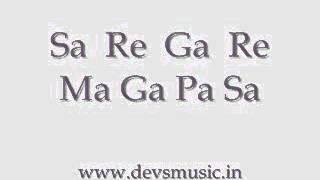 basic sargam 1 hindustani classical vocals wwwdevsmusicin devs music academy