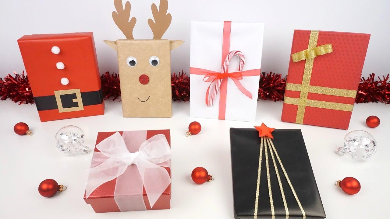 Ideas para envolver los regalos de navidad calendario for Ideas para envolver regalos
