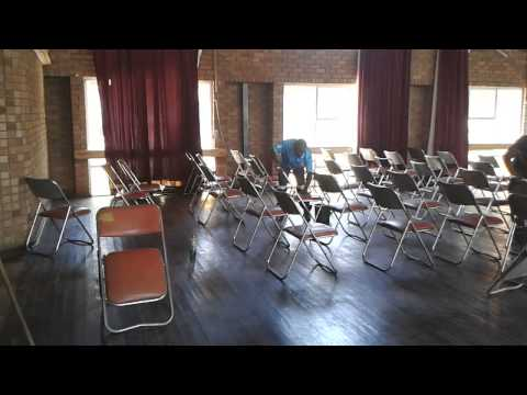 Chairs & Tables Needed For UBUNTU Community Kitchen