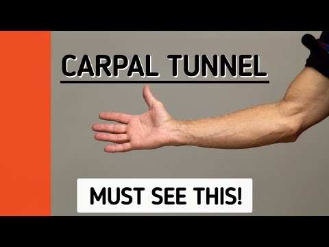 Carpal Tunnel Pain Not Improving? Must See This For Answer!