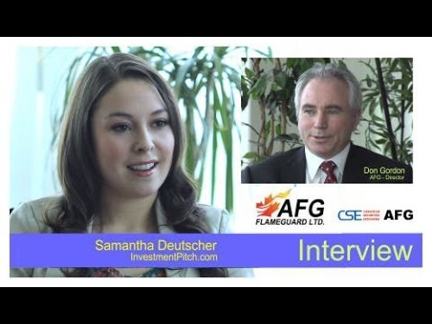 AFG Flameguard Ltd. (CSE: AFG) Interview with Don Gordon