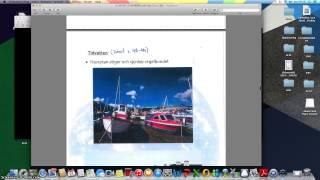 Lwktion 8: Havsströmmar och tidvatten