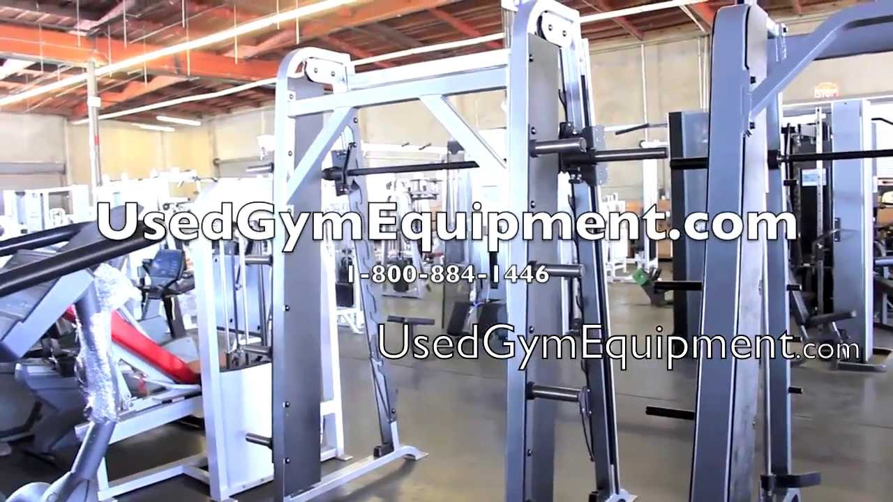 Used Life Fitness Pro Smith Machine For Sale Youtube