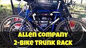 Installing The Allen 103db Deluxe 3 Bike Trunk Rack Youtube