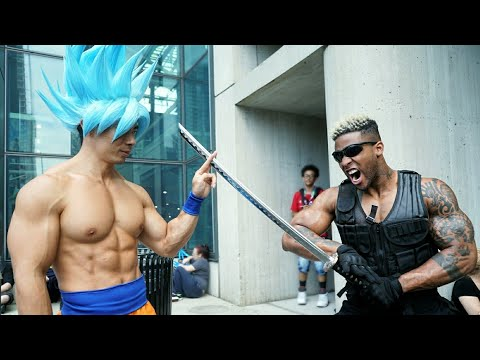 BEST NEW YORK COMIC CON 2017 | SSJ BLUE GOKU COSPLAY