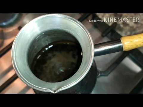 Как варить натуральный кофе в турке