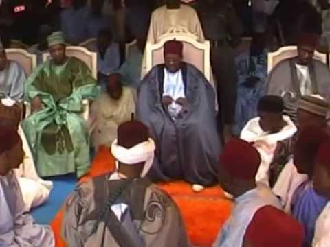 Traditional Turbaninng Ceremony Of Abba Umar Shehu Abubakar As The Village Head Of Old Maiduguri A