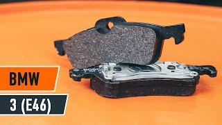 Comment remplacer des plaquettes de frein arrière sur une BMW 3 E46 TUTORIEL | AUTODOC