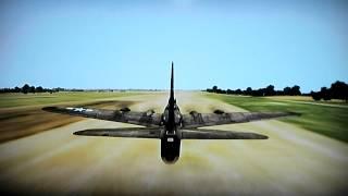 IL-2 Sturmovik Birds of Prey B-17G Landing