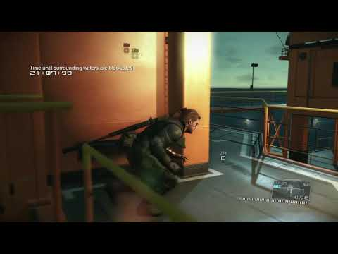 METAL GEAR SOLID V  THE DEFINITIVE EXPERIENCE rubber bullets only |