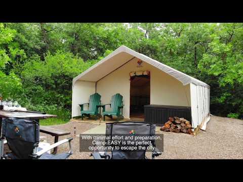 Camp-EASY At Saskatchewan Provincial Parks!