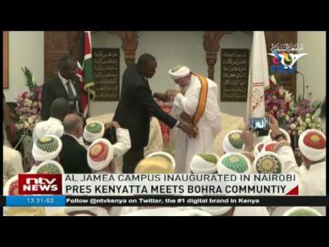 President Kenyatta meets Dawoodi Bohra community