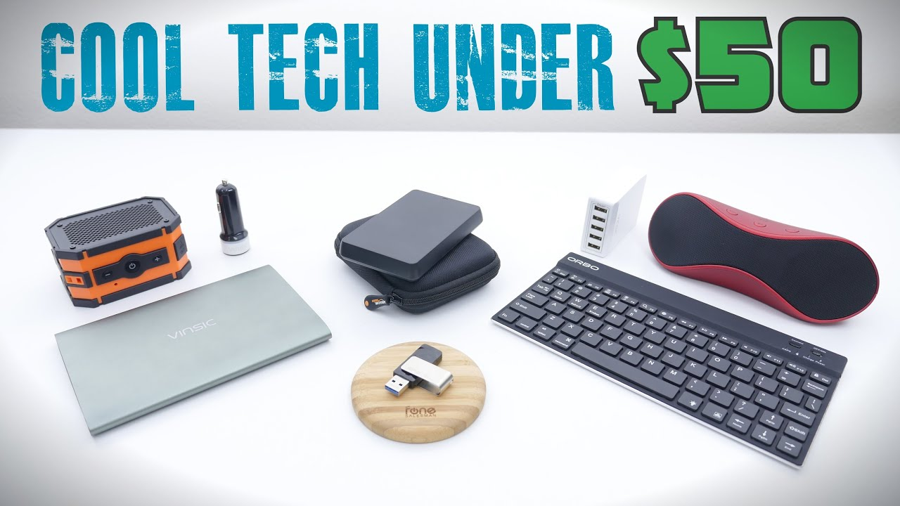 Cool Tech Under $50 May 2015